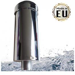 Duschfilter gegen Kalk und Chlor - Markenfilter gefertigt in der EU